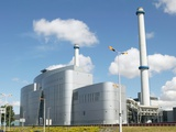 Waste Incineration Plant Photographic Print by Colin Cuthbert