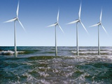 Wind Turbines Posters by Victor De Schwanberg