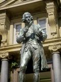 Joseph Priestley, British Chemist Fotografisk tryk af Martin Bond