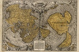 Oronce Fine's World Map, 1531 Photographic Print by Library of Congress