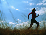 Woman Jogging Premium Photographic Print by  Cristina