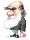 Charles Darwin, Caricature Posters by Gary Brown