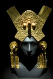 Gold Headdress, Chimu Imperial Photographic Print by Tony Camacho