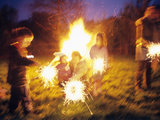 Sparklers Photographic Print by Ian Boddy