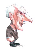 Carl Jung, Caricature Photographic Print by Gary Brown