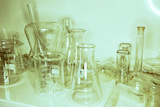 Laboratory Glassware Prints by Colin Cuthbert