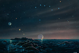 Tau Ceti Planetary System Posters by Chris Butler
