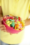 Bowl of Sweets Print by Ian Boddy