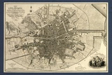 Map of the City of Dublin, 1797 Poster by Library of Congress