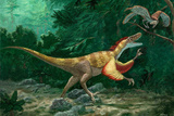 Feathered Dinosaurs Fotografie-Druck von Chris Butler