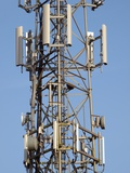 Communication Mast Photographic Print by Adrian Bicker