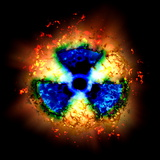 Radiation Hazard Photographic Print by Christian Darkin