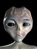 Alien Photographic Print by Roger Harris