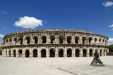 Roman Amphitheatre, Nimes, France Photographic Print by Chris Hellier