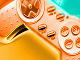 Computer Artwork of a Sony Playstation Gamepad Premium Photographic Print by Victor Habbick
