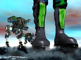 Military Robots Photographic Print by Victor Habbick