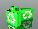 Reusable Shopping Bags, Artwork Posters by Victor Habbick