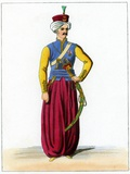 Ottoman Turkish Officer, Artwork Prints by Chris Hellier