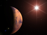 Mars Premium Photographic Print by Roger Harris