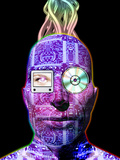 Humanoid Robot Premium Photographic Print by Victor Habbick