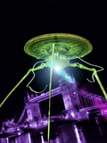 Alien Invasion Photographic Print by Victor Habbick