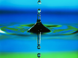 Gota de agua Lámina fotográfica por Adam Hart-Davis