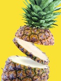 Sliced Pineapple Photographic Print by Victor Habbick