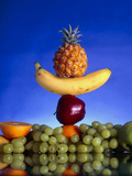 Selection of Fruit, Part of a Healthy Diet Posters by Victor Habbick