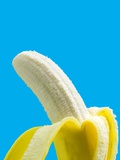 Peeled Banana Photographic Print by Victor Habbick