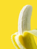 Peeled Banana Posters by Victor Habbick