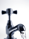 Water Running From a Tap Posters by Tek Image