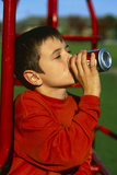 Drinking Soft Drink Photographic Print by Andy Harmer