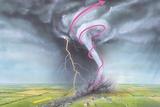 Tornado Dynamics Photographic Print by Gary Hincks