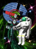 Space Walk Photographic Print by Victor Habbick