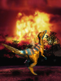 Dinosaur Extinction Photographic Print by Victor Habbick