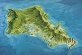 Oahu Island, Hawaii, USA Photographic Print by Gary Hincks