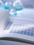 Periodic Table Print by Tek Image