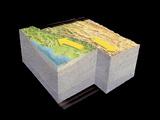 San Andreas Fault Earthquake, Art Photographic Print by Gary Hincks