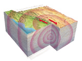 Earthquake Waves, Artwork Photographic Print by Gary Hincks