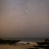 Sirius In Canis Major Over a Beach Photographic Print by Laurent Laveder