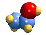 Ethanol Molecule Photographic Print by Dr. Mark J.