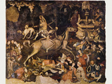 The Triumph of Death, Medieval Fresco Photographic Print by Mehau Kulyk