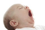 Baby Yawning Photographic Print by Ruth Jenkinson