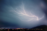 Monsoon Lightning Storm Over Tuscon ,Arizona,USA Photo by Keith Kent