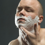 Shaving Foam Photographic Print by Coneyl Jay