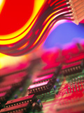 Circuit Board Photographic Print by Chris Knapton