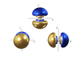 5p Electron Orbitals Premium Photographic Print by Dr. Mark J.
