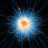 Atomic Structure, Artwork Fotografisk tryk af Mehau Kulyk