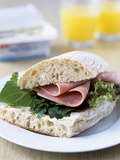 Ham Sandwich Photo by Veronique Leplat