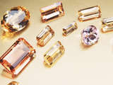 Topaz Gemstones Photographic Print by Lawrence Lawry